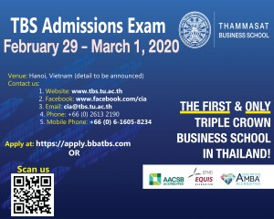 TBS admissions exam 2020 in Hanoi-01
